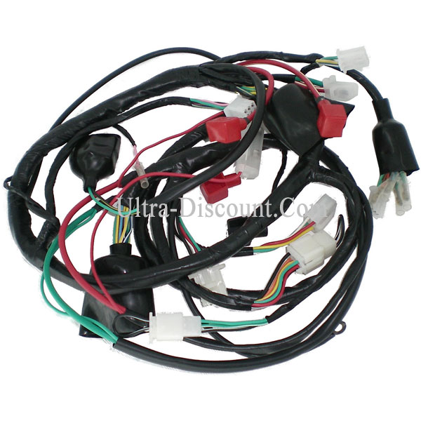 wire harness for baotian scooter bt49qt 12 ignition baotian parts bt49qt 12 ud spareparts