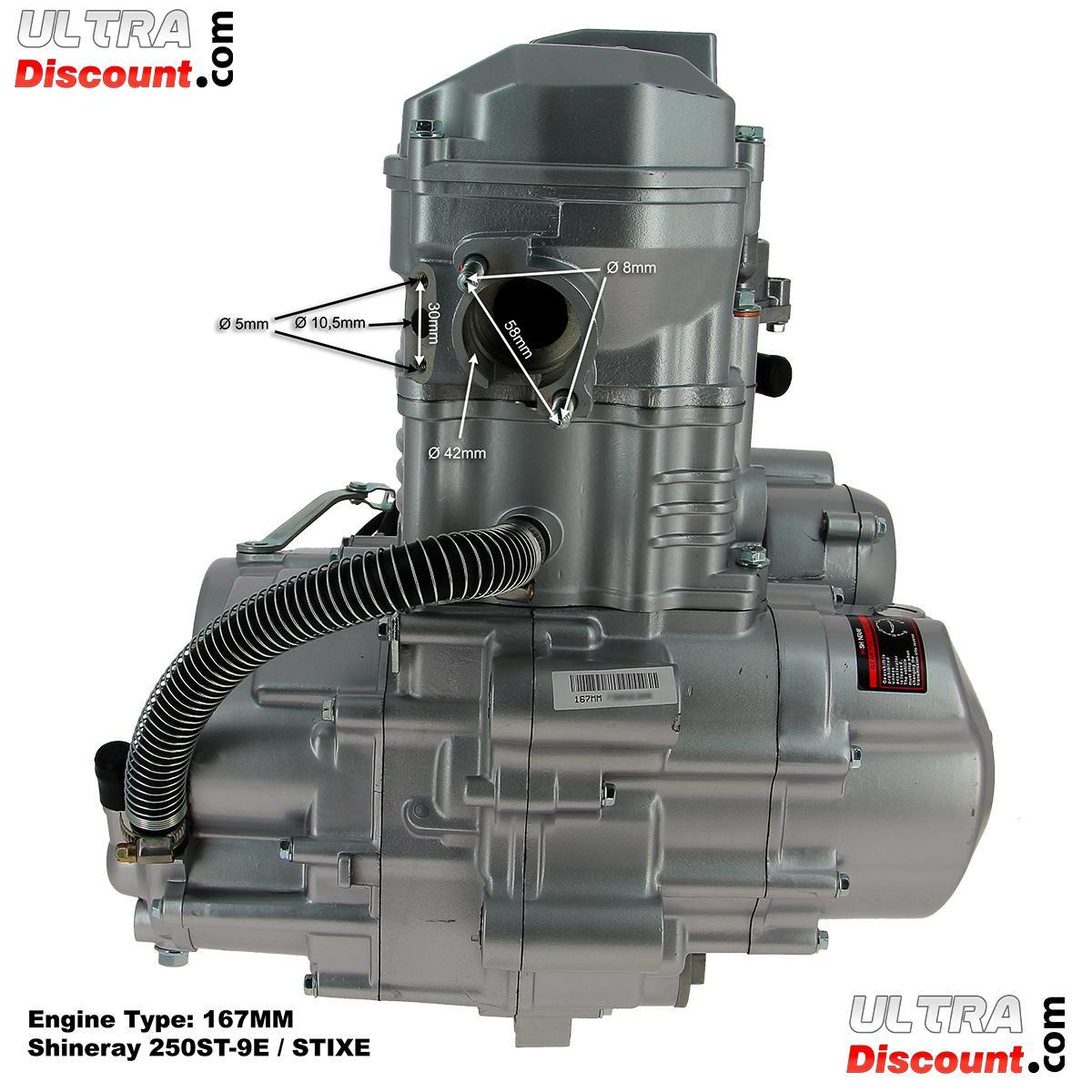 engine for atv shineray racing quad 250cc 167mm engine shineray parts atv h2o 250 stixe. Black Bedroom Furniture Sets. Home Design Ideas
