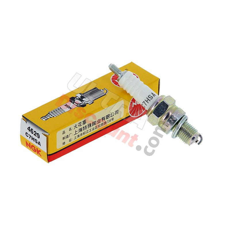 NKG Spark Plug C7HSA for Baotian Scooter BT49QT-9, Ignition