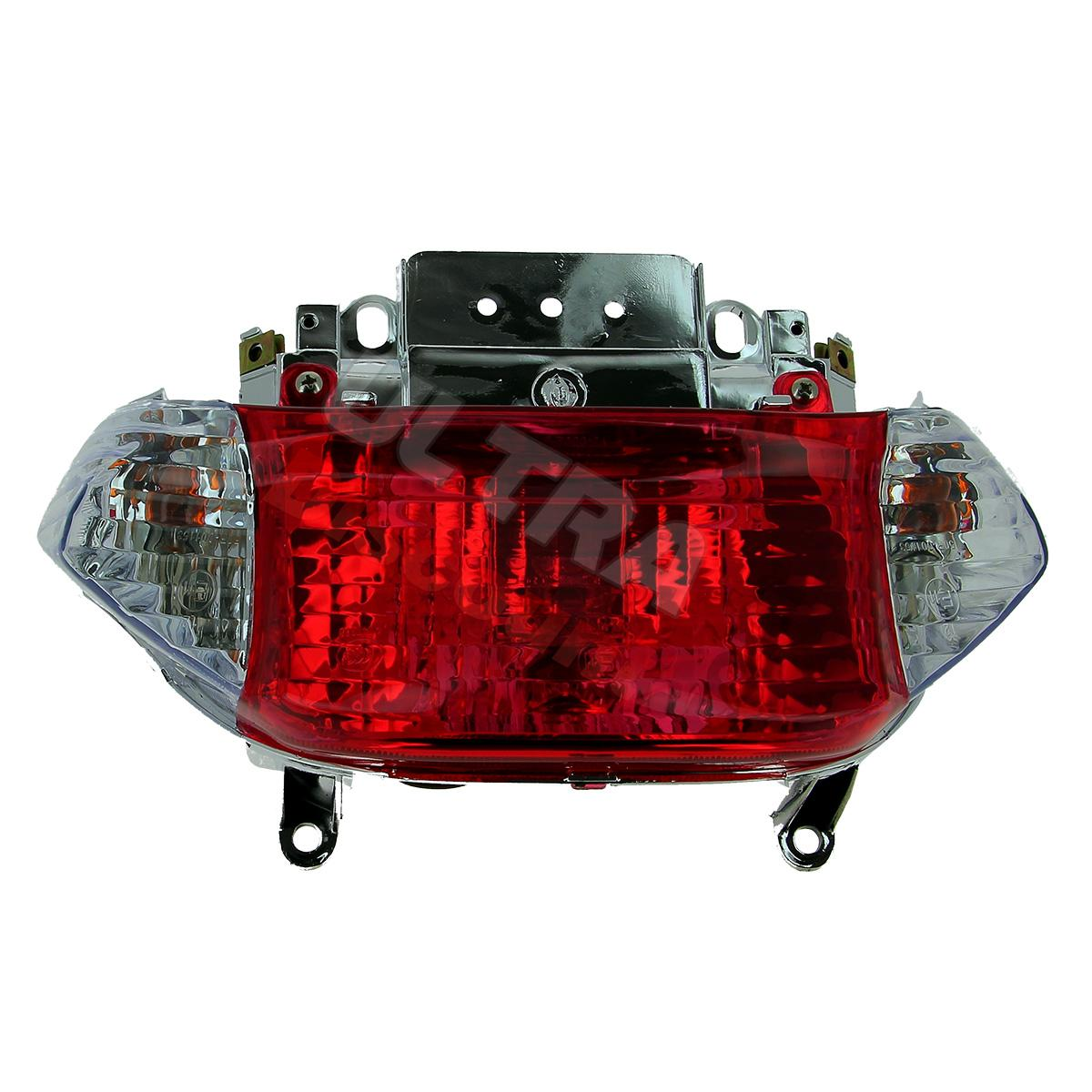 tail light for baotian scooter bt49qt-9, baotian parts - bt49qt-9