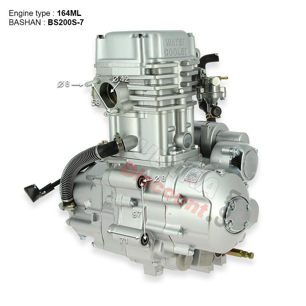 engine 164ml for atv bashan quad 200cc bs200s 7 engine bashan parts atv 200cc bs200s7 ud. Black Bedroom Furniture Sets. Home Design Ideas