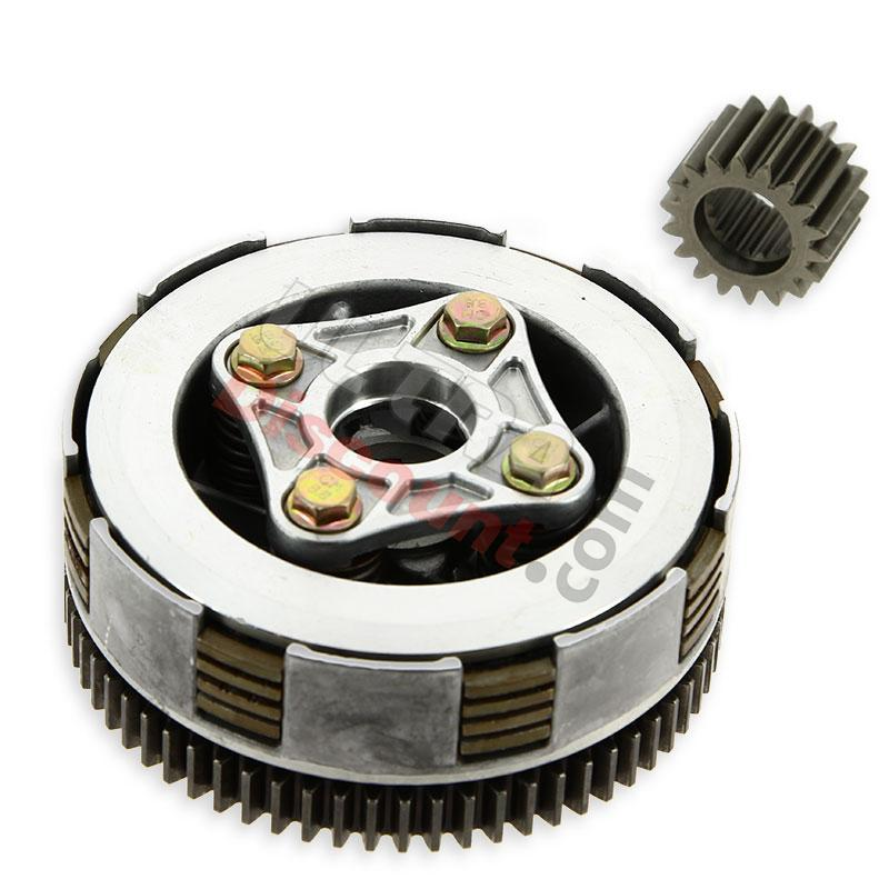 Clutch For DIRT BIKE 110 125cc Clutch Amp Cables Dirt