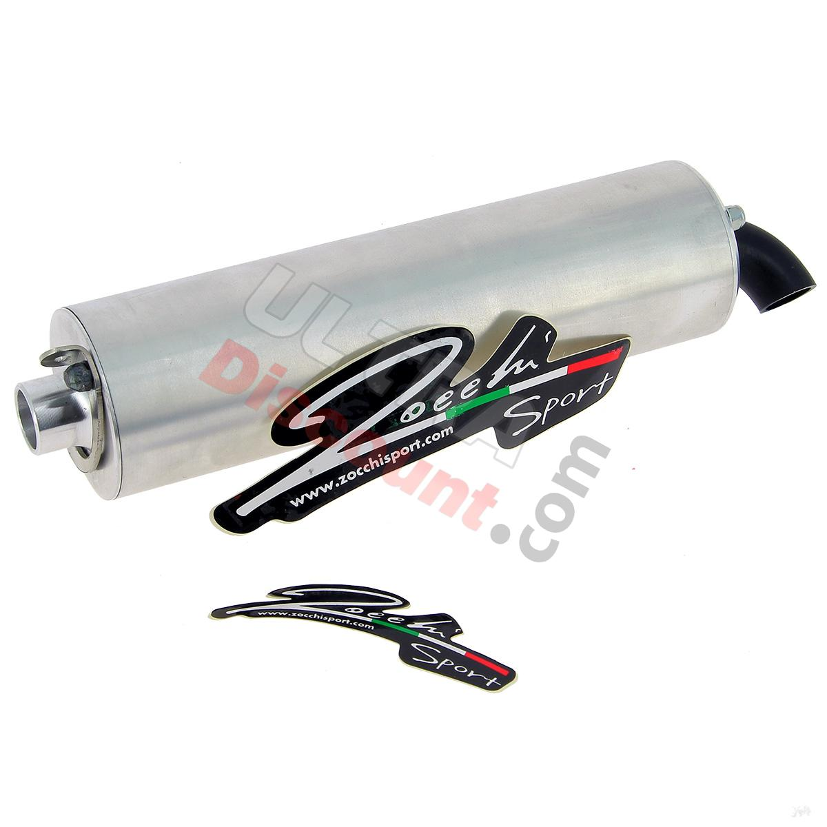 muffler for zocchi exhaust for pocket bike 215mm 94db exhaust system pocket bike spare