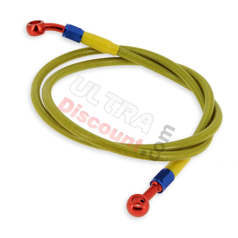 rear brake hose for shineray 250cc stxe (yellow), shineray parts atv 250 stxe