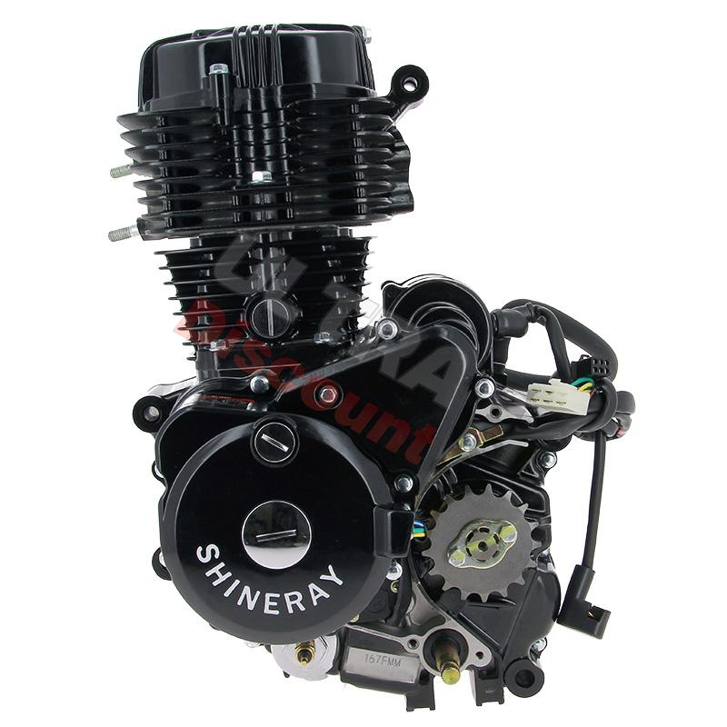 Engine for ATV SHINERAY Quad 250cc STXE 167FMM, Engine ...