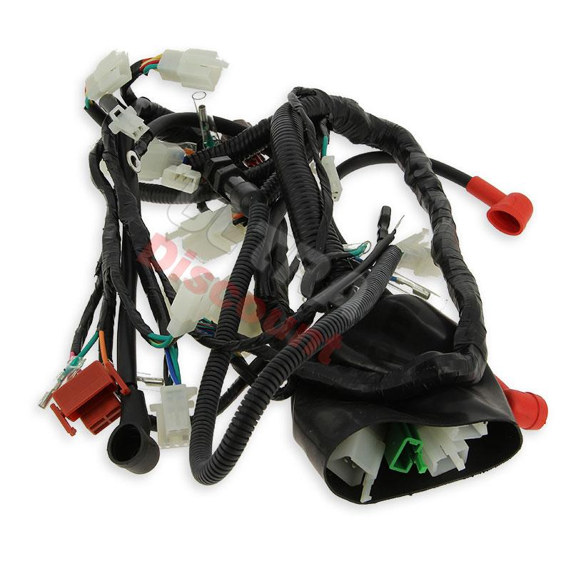 wire harness for atv bashan quad 250cc (bs250s-11b), bashan parts atv 250cc bs250s11