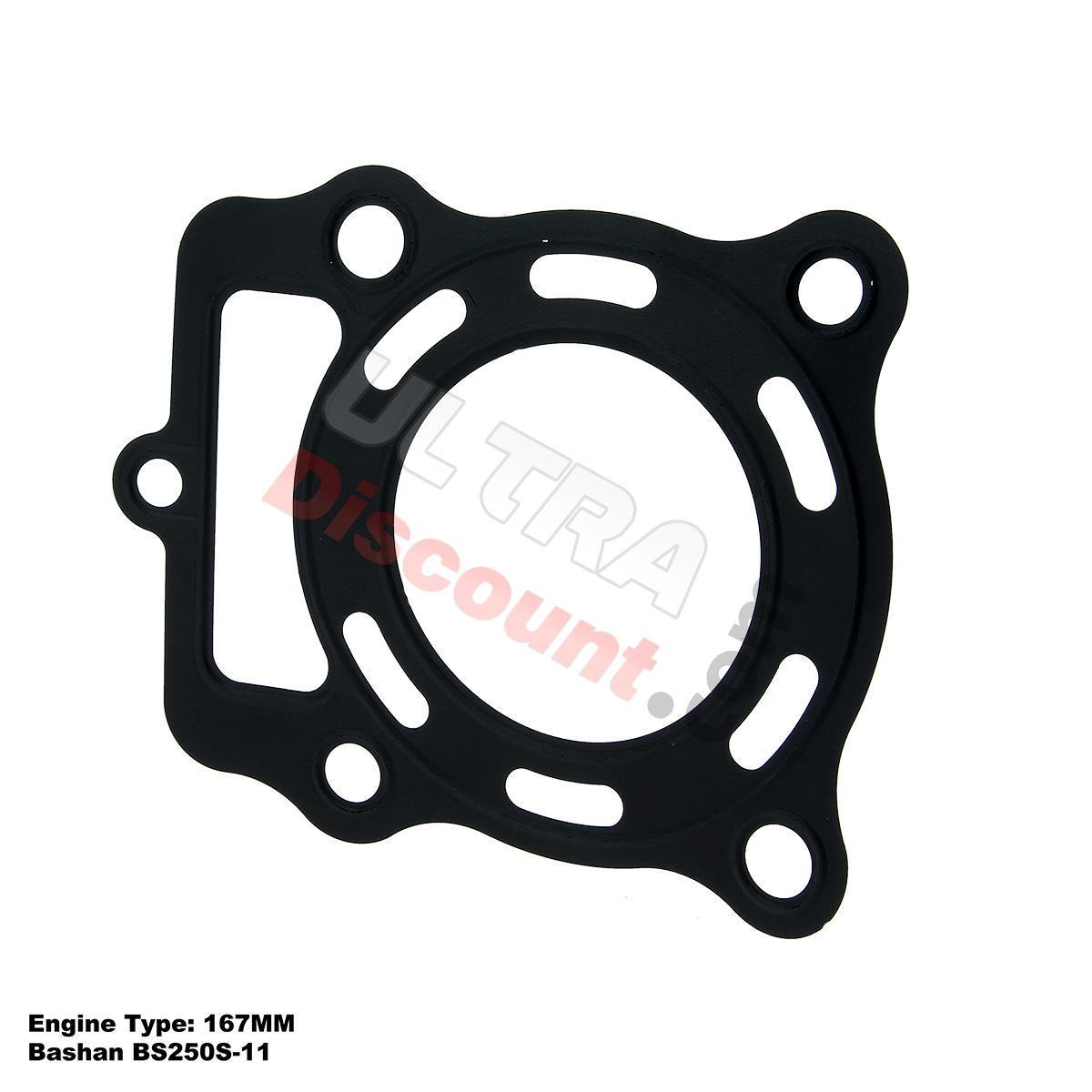 cylinder head gasket for atv bashan racing quad 250cc bs250s 11 engine bashan parts atv. Black Bedroom Furniture Sets. Home Design Ideas