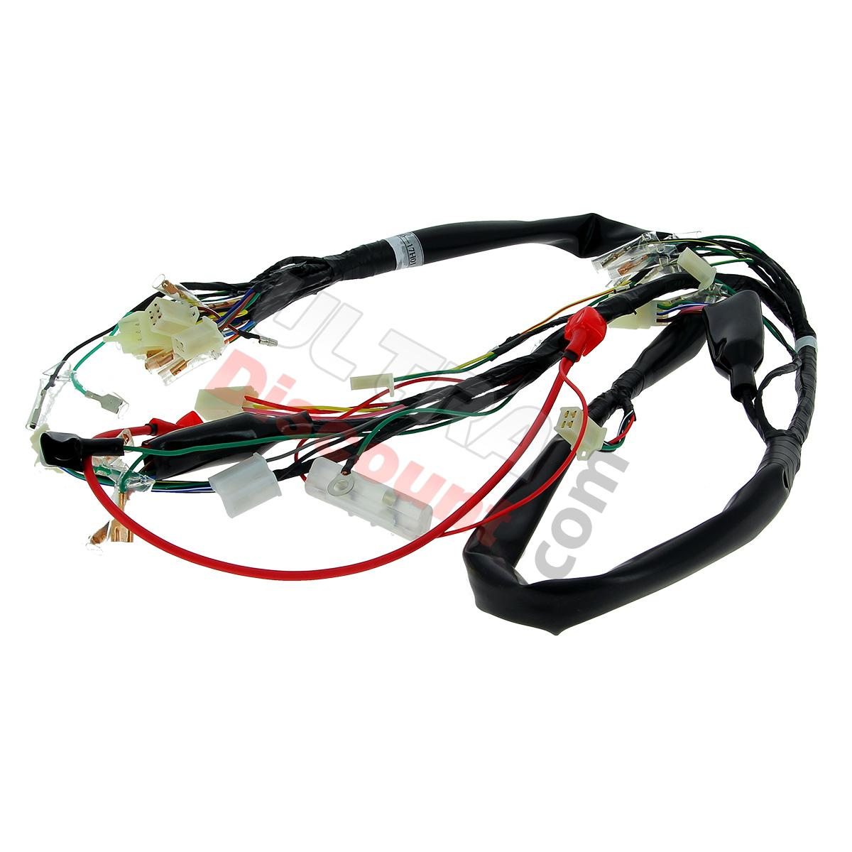 Pieces Dax Skyteam Allumage Faisceau Electrique pour Skymax 50cc ou 125cc wire harness 36610 17h01 for skymax 50cc 125cc (10 2015), ignition pw50 wiring harness at fashall.co
