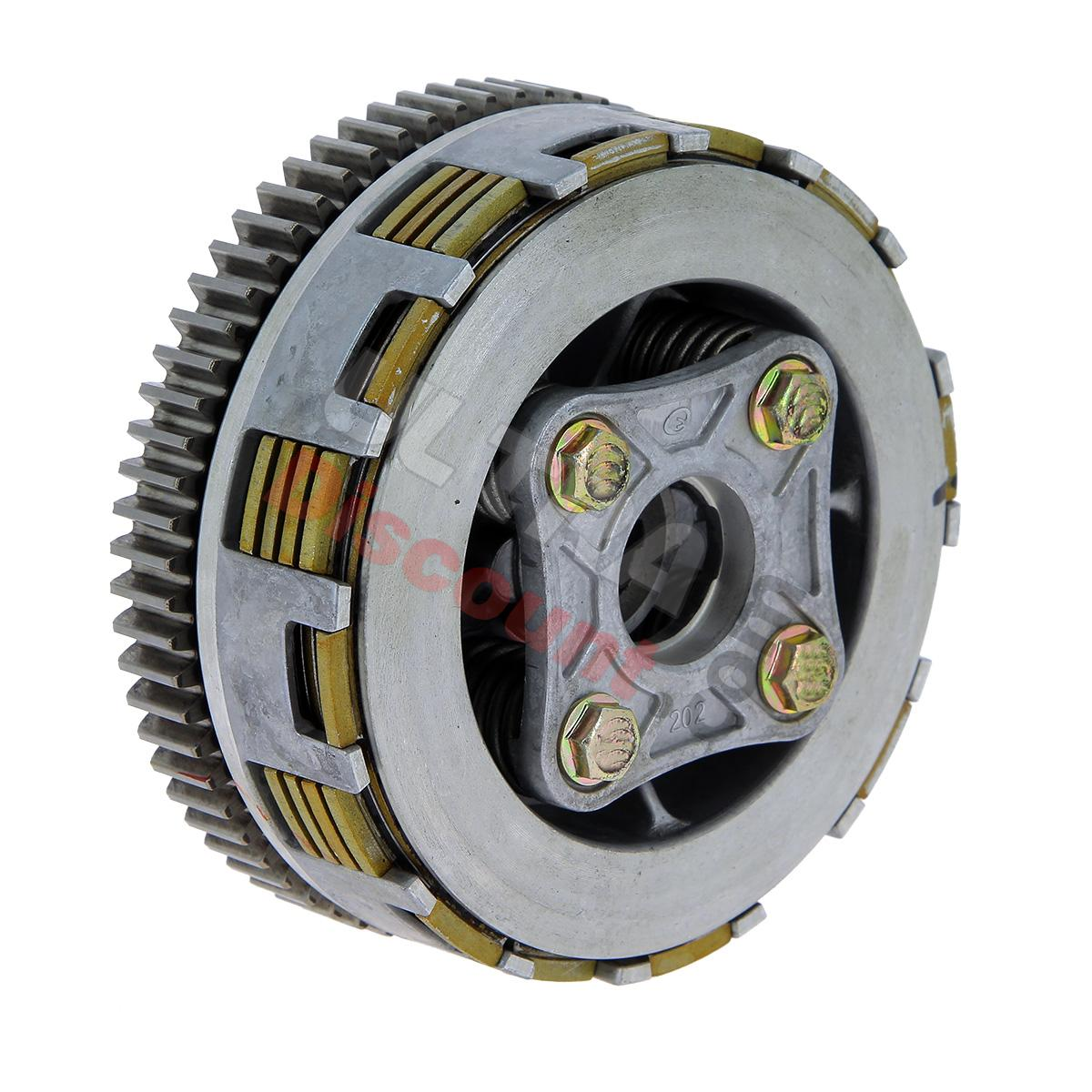 complete clutch for dax engine 125cc engine dax dax skyteam spare parts ud. Black Bedroom Furniture Sets. Home Design Ideas