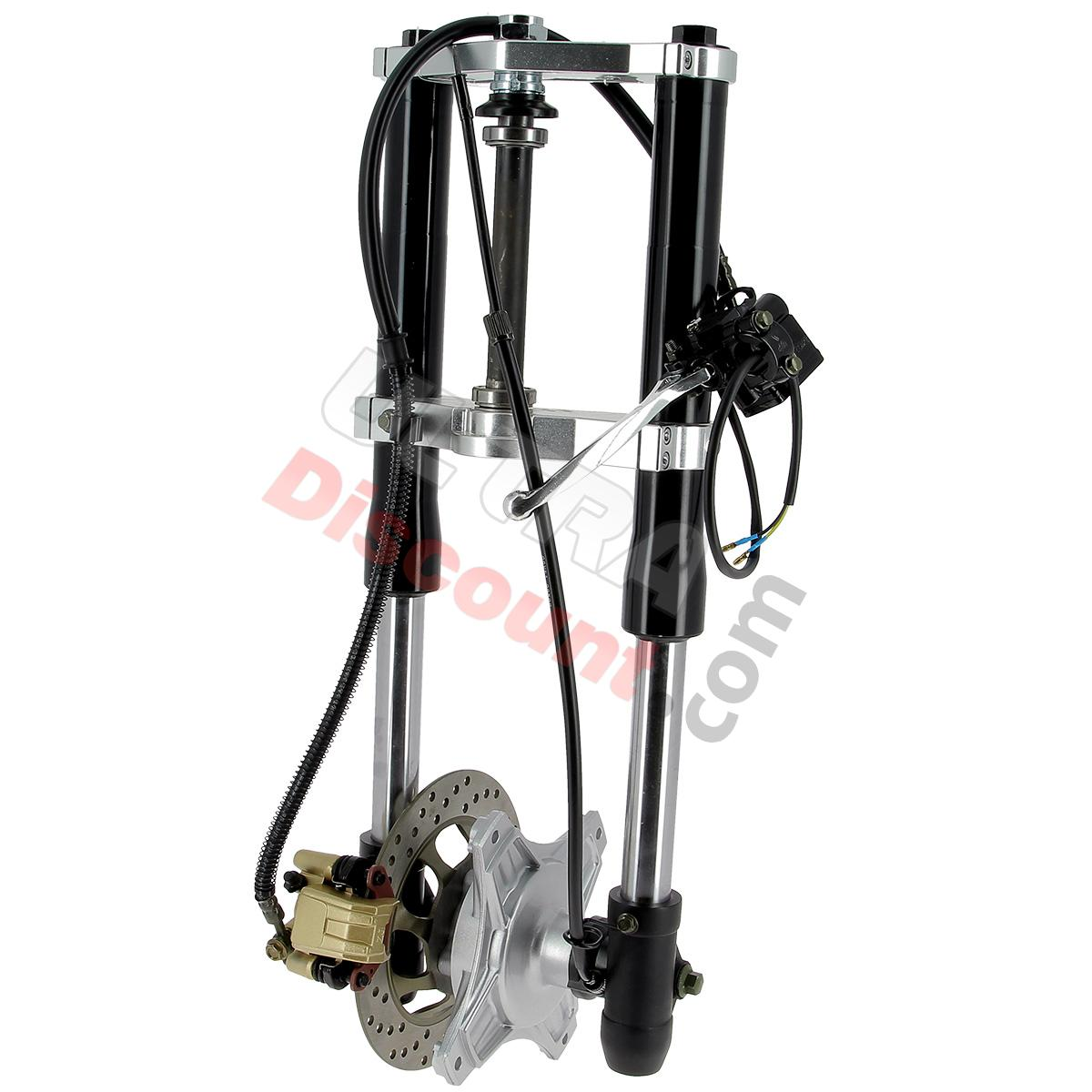 complete premium front fork for dax 50cc - 125cc  black   frame  dax skymax spare parts