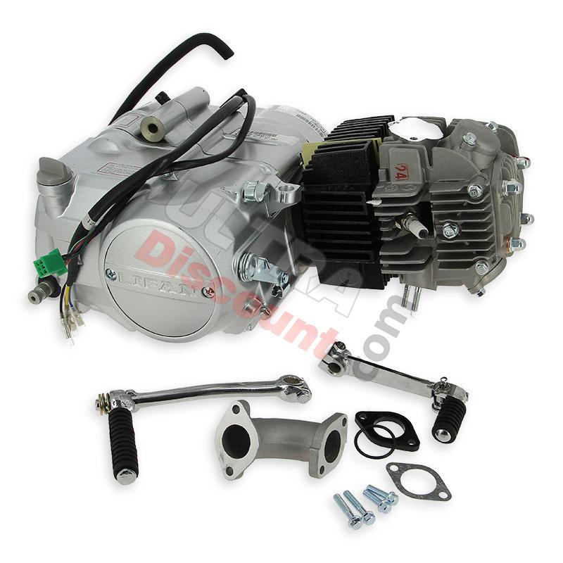 Engine LIFAN 125cc 1P54FMI Kick start, Engine 107cc - 110cc