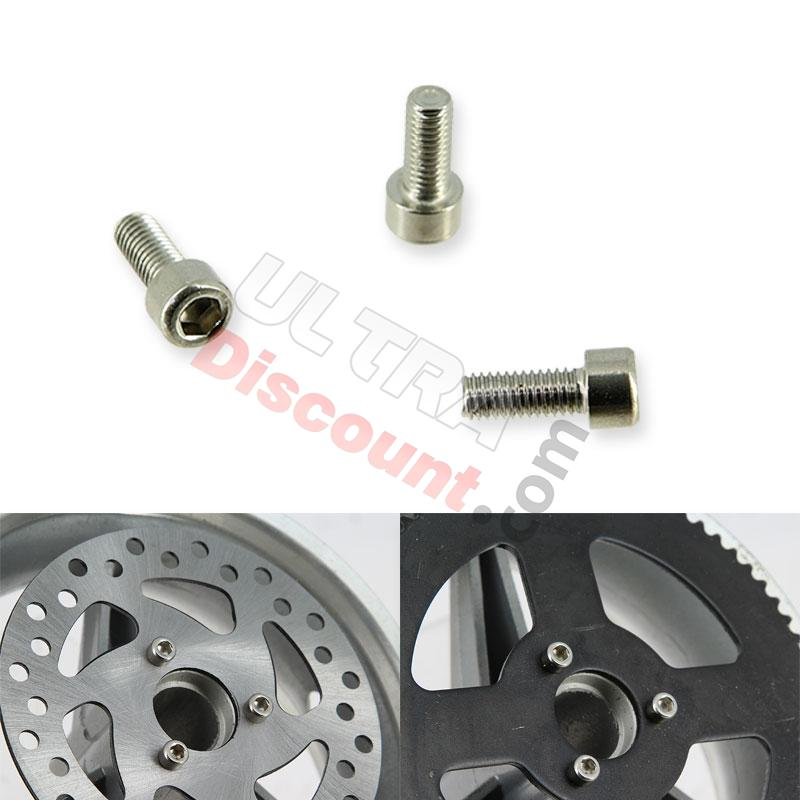 disc and crown fixing screw for pocket bike, pocket bike spare parts