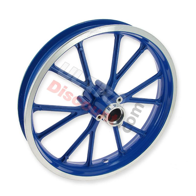 Rear Rim blue for Cross Pocket Bike (10'', type 1), Cross Pocket Bike Parts