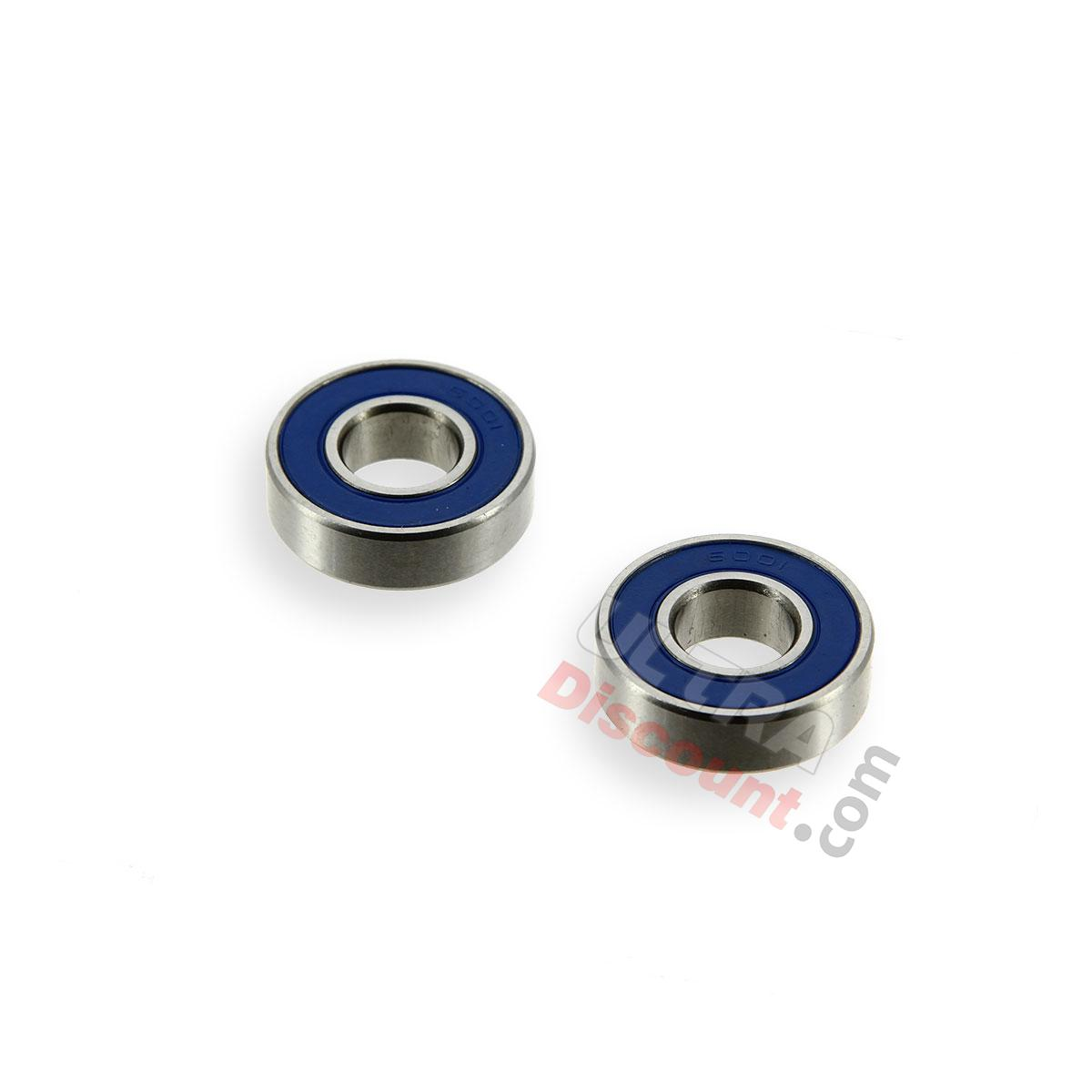 pair of high quality wheel bearings for cross pocket bike wheels and tires cross pocket bike. Black Bedroom Furniture Sets. Home Design Ideas