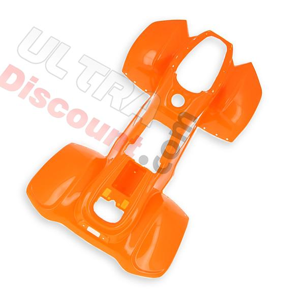 orange fairing for atv big foot 110cc, 125cc or electric, electric quad big foot 110cc 125cc electric