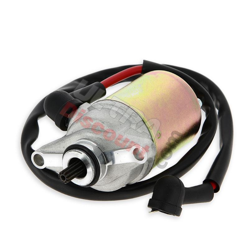 starter motor for baotian scooter bt49qt 12 ignition. Black Bedroom Furniture Sets. Home Design Ideas