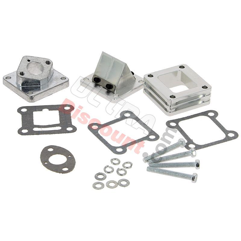 ud racing reed valve box for high pressure carburetor carburetion pocket quad spare parts. Black Bedroom Furniture Sets. Home Design Ideas