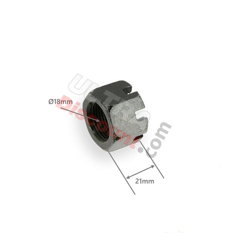 rear axle castle nut for bashan parts atv 200cc bs, bashan parts atv 200cc bs200s-3