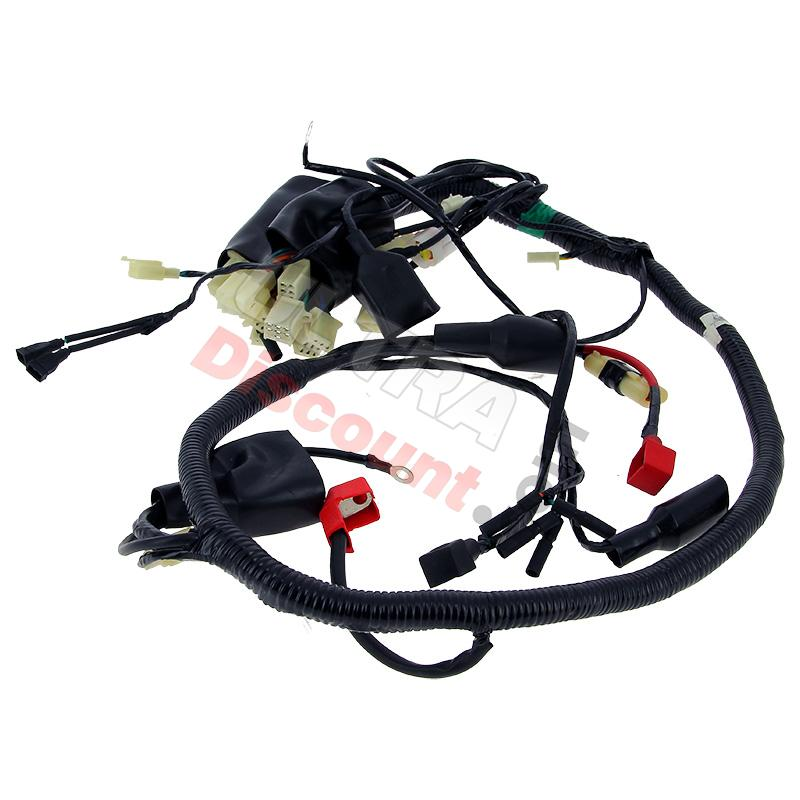 wire harness for atv shineray 300cc st 5e ignition shineray spare parts atv 300cc ud