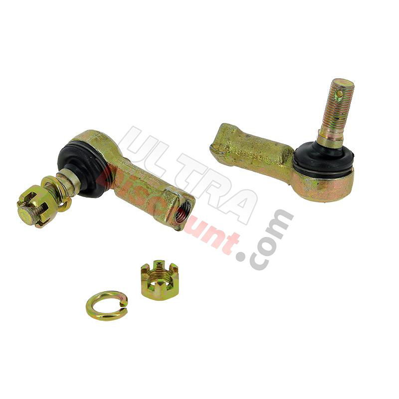ATV Front Arm Ball Joint with Castle and Lock Nuts Chinese Parts
