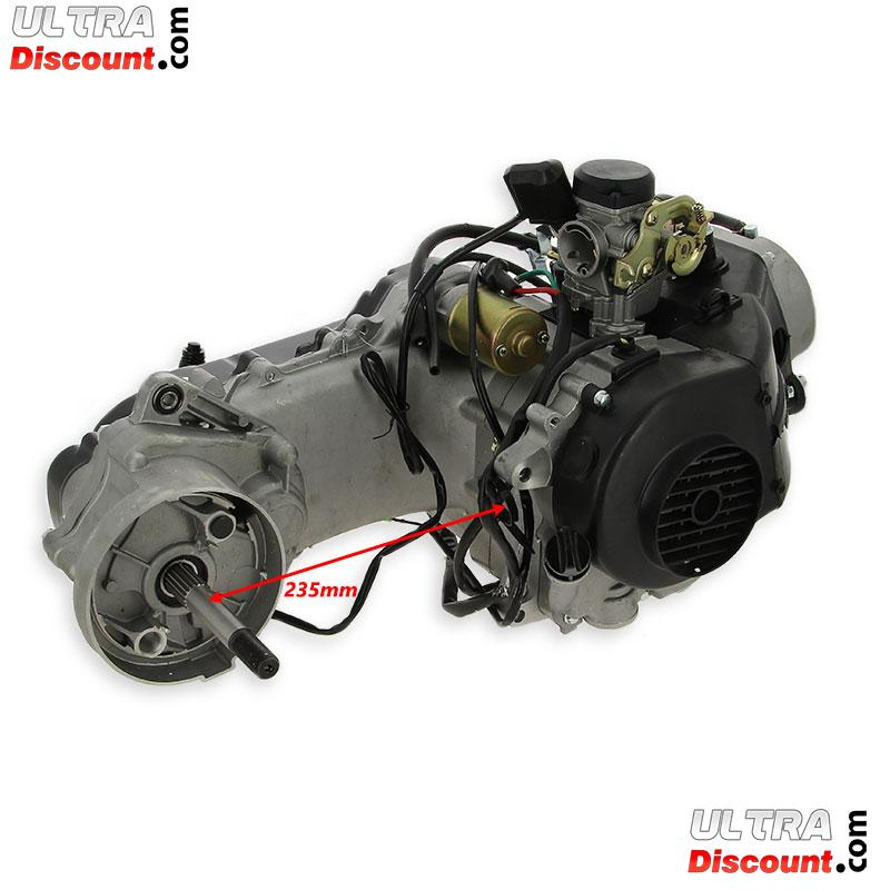 Engine 50cc GY6 model 139QMB for Chinese Scooter (Brake disk