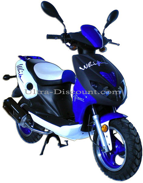 Scooter Viper R1 50cc 2-stroke - Blue, Chinese Scooter 50cc