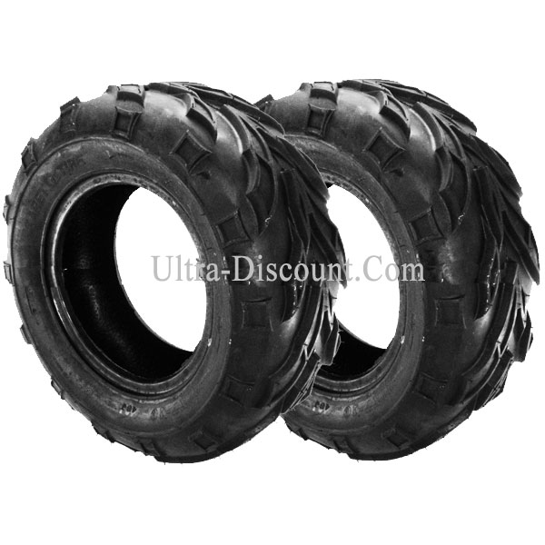 pair of rear tires for atv bashan quad 200cc bs200s 7. Black Bedroom Furniture Sets. Home Design Ideas