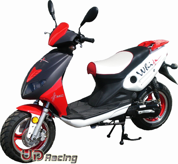 scooter viper r1 50cc 2 stroke red chinese scooter 50cc ud. Black Bedroom Furniture Sets. Home Design Ideas