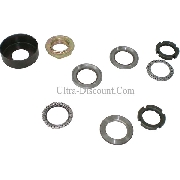 Front Fork Bearings Kit for Baotian Scooter BT49QT-7