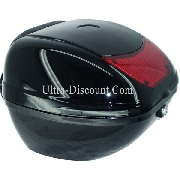 Top Case for Baotian Scooter BT49QT-7 - Black