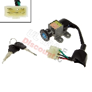 Lock Assy Baotian Scooter BT49QT-9