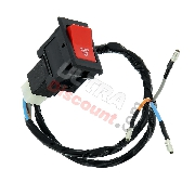 Hazard Flasher Switch for ATV Bashan Quad 200cc (BS200S-3A)