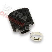 Dual Layer Foam Air Filter - 44-45mm - Black