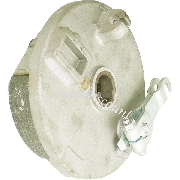 Front left Drum Brake for ATV Bashan Quad 200cc (BS200S-3A)