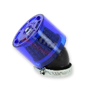 Racing Air Filter for ATV Bashan Quad 200cc (BS200S-7) (Ø 44mm) - Blue