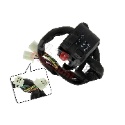 Left Switch Assembly for ATV Bashan Quad 200cc (BS200S-7A)