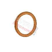 Copper Exhaust Gasket (O-Ring) for ATV Bashan Quad 300cc (BS300S-18)