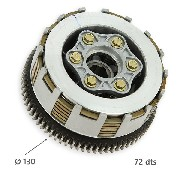 Clutch for Dirt Bike 250cc, Type 2