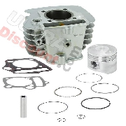 Cylinder Kit for Dirt Bike 125cc - Lifan Engine 1P52FMI