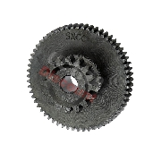 Starter Reduction Gear for Dirt Bikes 200cc - 250cc (16 tooth)