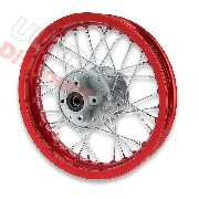 12'' Rear Rim for Dirt Bike (type 1) - Red