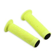 Non-Slip Handlebar Grip Yellow for Scooter Spare Parts