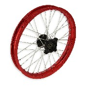 17'' Front Rim for Dirt Bike AGB30 - Red