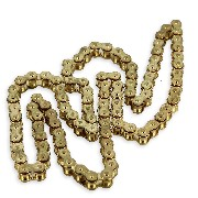 48 Links Drive Chain for Dirt Bike (420) - Gold