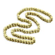 49 Links Drive Chain for Dirt Bike (420) - Gold