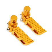 Custom gold Foot Pegs typ3 for Pocket Bike