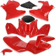 Fairing for Pocket Bike 47cc 49cc Red