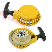 Aluminum Recoil Starter yellow (type B)