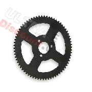 70 Tooth Reinforced Rear Sprocket Pocket quad (small pitch) Type 1