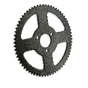66 Tooth Reinforced Rear Sprocket small pitch